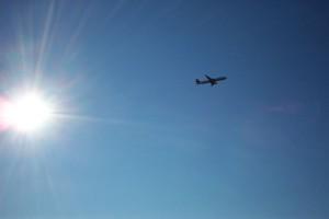 Flug in die Sonne