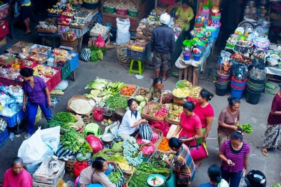 Markt auf Bali