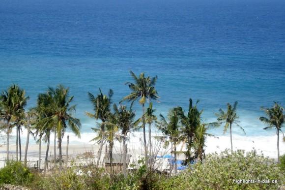Strand auf Bali (Padangbai)