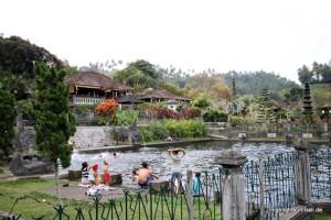 Schwimmbecken in Tirtagangga