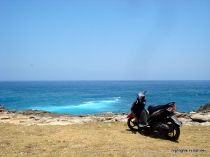 Moped auf Bali