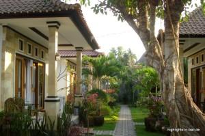 Bungalows auf Bali